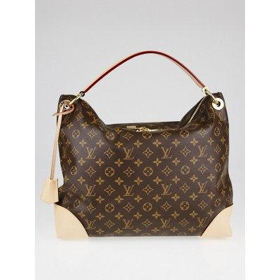 Louis Vuitton Monogram Canvas Berri MM Bag