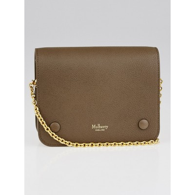 Mulberry Clay Grained Leather Small Crossbody Bag