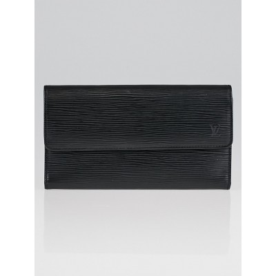 Louis Vuitton Black Epi Leather Porte-Tresor International Wallet