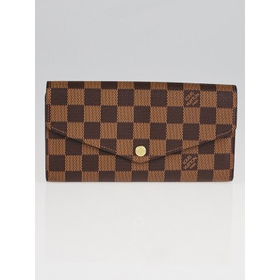 Louis Vuitton Damier Canvas Sarah NM3 Wallet