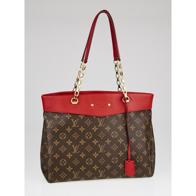 Louis Vuitton Cerise Monogram Canvas Pallas Shopper Tote Bag