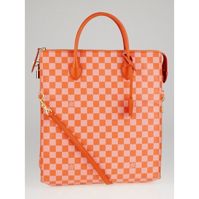 Louis Vuitton Limited Edition Piment Damier Couleur Canvas Mobil Bag