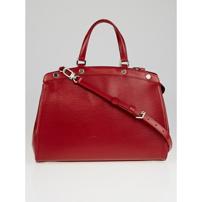 Louis Vuitton Rubis Epi Leather Brea MM Bag