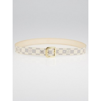 Louis Vuitton Damier Azur Tresor 40mm Belt Size 90/36