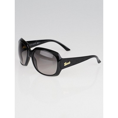 Gucci Black Plastic Frame Oversized Sunglasses - GG 3616