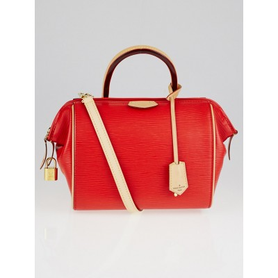 Louis Vuitton Coquelicot Epi Leather Doc BB Bag