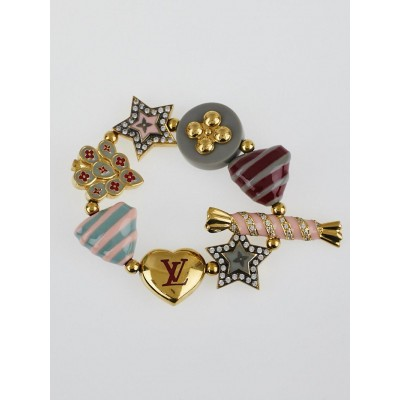 Louis Vuitton Multicolor Resin and Metal Tutti Sweety Bracelet