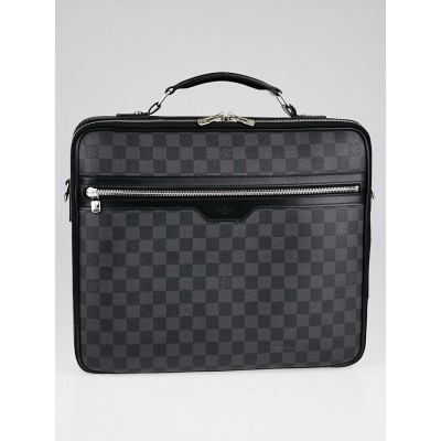 Louis Vuitton Damier Graphite Canvas Steve Laptop Bag