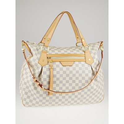 Louis Vuitton Damier Azur Canvas Evora GM Bag
