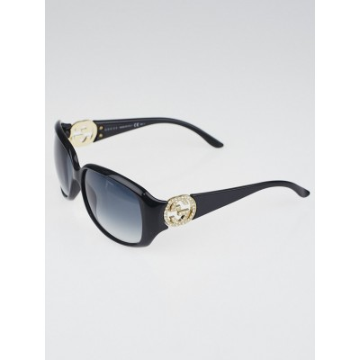 Gucci Black Frame GG Logo Sunglasses- 3578/S