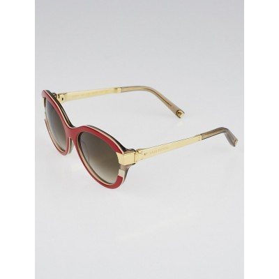 Louis Vuitton Red Frame Soupcon Cat Eye Sunglasses-Z0689W