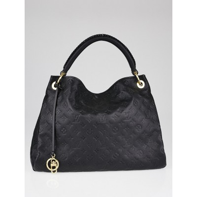 Louis Vuitton Black Monogram Empreinte Artsy MM Bag