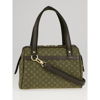 Louis Vuitton Khaki Monogram Mini Lin Josephine PM Bag
