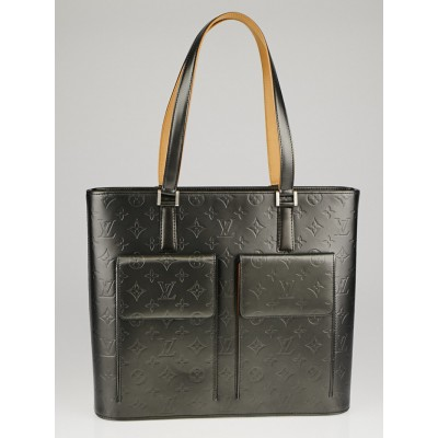 Louis Vuitton Black Monogram Mat Willwood Tote Bag