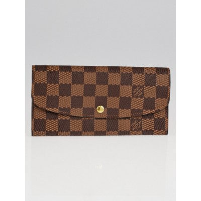 Louis Vuitton Damier Canvas Emilie Wallet