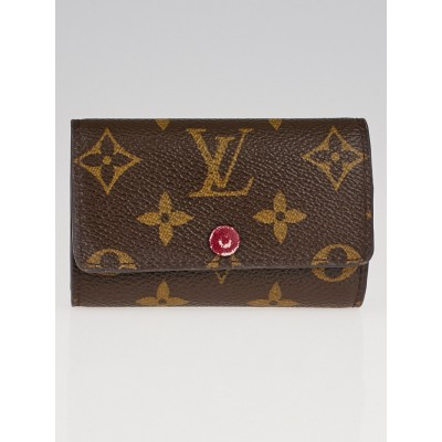 Louis Vuitton Monogram Canvas Multi Cles 6 Key Holder