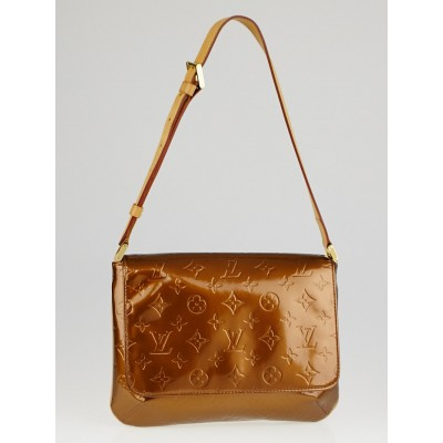 Louis Vuitton Bronze Monogram Vernis Thompson Street Bag