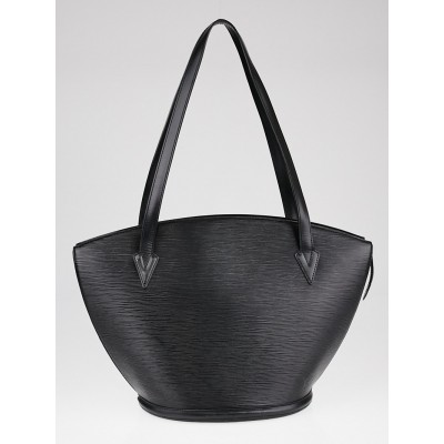Louis Vuitton Black Epi Leather Saint Jacques GM Bag