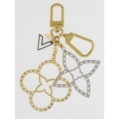 Louis Vuitton Goldtone Neo Tapage Key Holder and Bag Charm