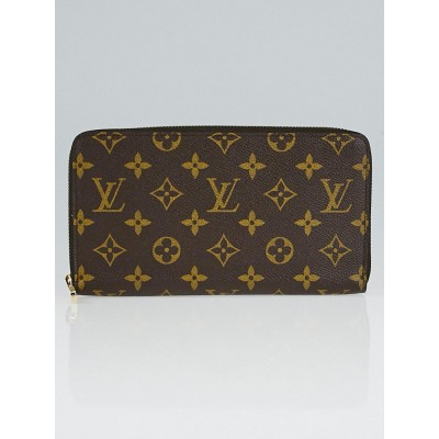 Louis Vuitton Monogram Canvas Zippy Organizer Wallet