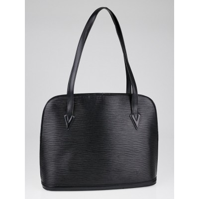 Louis Vuitton Black Epi Leather Lussac Tote Bag