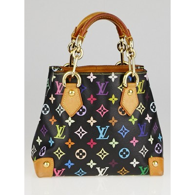 Louis Vuitton Black Monogram Multicolore Audra Bag