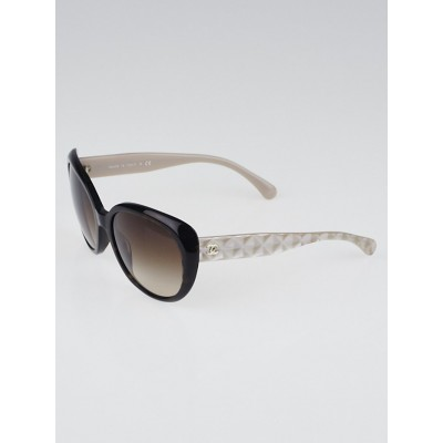 Chanel Tortoise Shell Oversized Frame Gradient Tint CC Sunglasses-5184