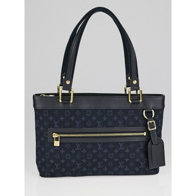 Louis Vuitton Blue Monogram Mini Lucille PM TST Bag