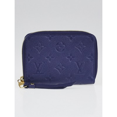 Louis Vuitton Celeste Monogram Empreinte Secret Compact Wallet