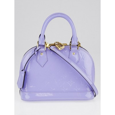 Louis Vuitton Lilas Monogram Vernis Alma BB Bag