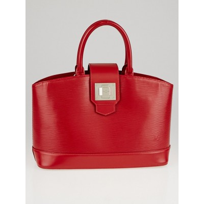 Louis Vuitton Carmine Epi Leather Mirabeau PM Bag