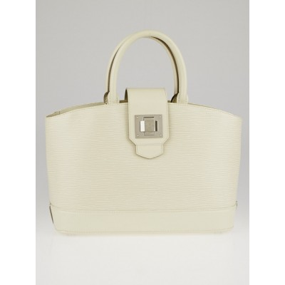 Louis Vuitton Ivory Epi Leather Mirabeau PM Bag