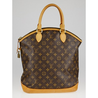 Louis Vuitton Monogram Canvas Lockit Vertical Bag