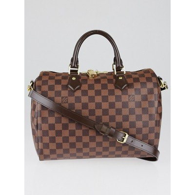 Louis Vuitton Damier Canvas Speedy 30 Bandouliere NM Bag