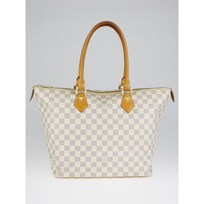 Louis Vuitton Damier Azur Canvas Saleya MM Bag