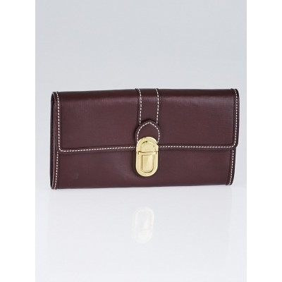 Louis Vuitton Sepia Leather Sarah Wallet