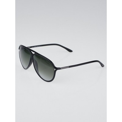 Tom Ford Black Gradient Tint Maximillian Sunglasses-TF206
