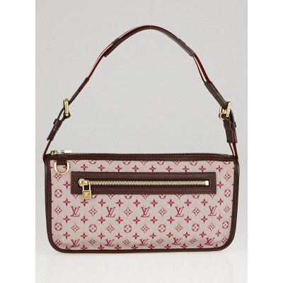 Louis Vuitton Cherry Monogram Mini Lin Pochette Kathleen Bag