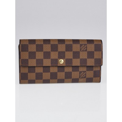 Louis Vuitton Damier Canvas Sarah NM2 Wallet