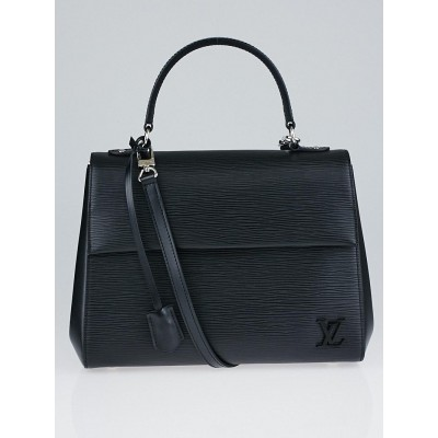 Louis Vuitton Black Epi Leather Cluny MM Bag