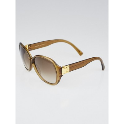 Louis Vuitton Honey Speckling Acetate Frame Oversized Soupcon GM Sunglasses-Z0283W