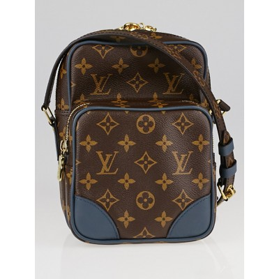 Louis Vuitton Limited Edition Slate Monogram Canvas Amazone Bag