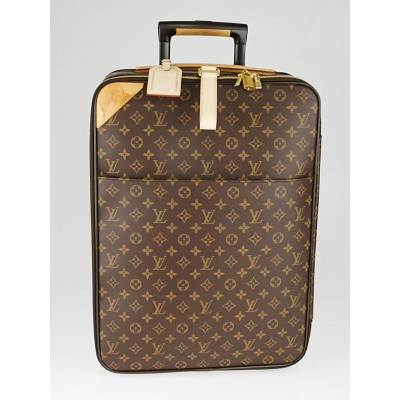 Louis Vuitton Monogram Canvas Pegase 55 Suitcase