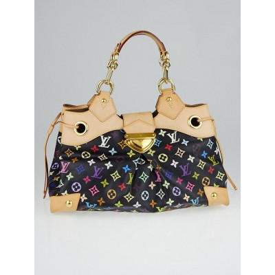 Louis Vuitton Black Monogram Multicolore Ursula Bag