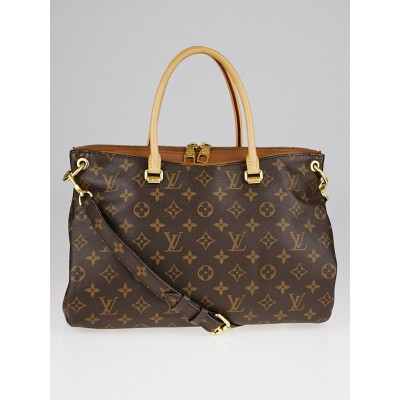 Louis Vuitton Havane Monogram Canvas Pallas Bag