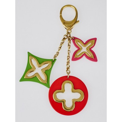 Louis Vuitton Multicolore Resin Insolence Key Holder and Bag Charm