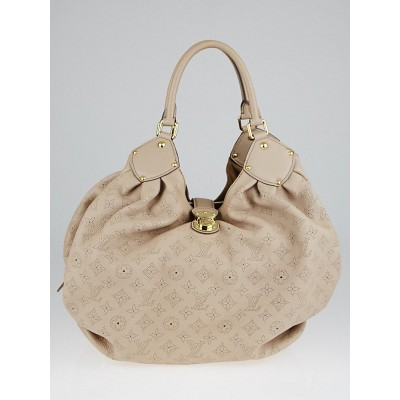 Louis Vuitton Sandy Monogram Mahina Leather XL Bag