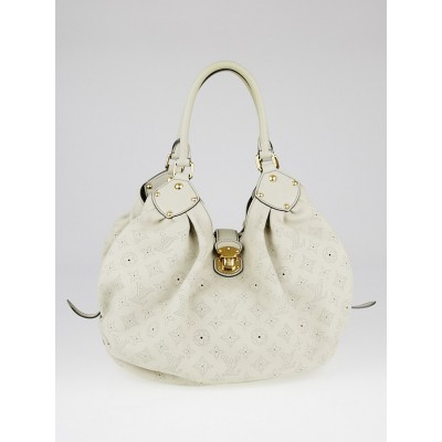 Louis Vuitton Grey Monogram Mahina Leather L Bag