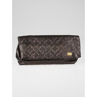 Louis Vuitton Limited Edition Black Monogram Limelight Clutch Bag