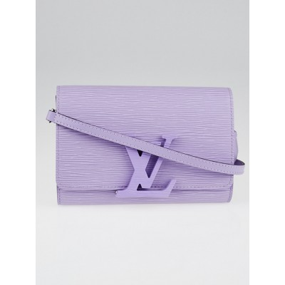 Louis Vuitton Lilas Epi Leather Louise PM Bag